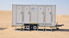 CLEAN FLUSH RENTALS | FOUR DOOR MOBILE UNIT