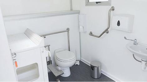 CLEAN FLUSH RENTALS | ONE DOOR MOBILE UNIT