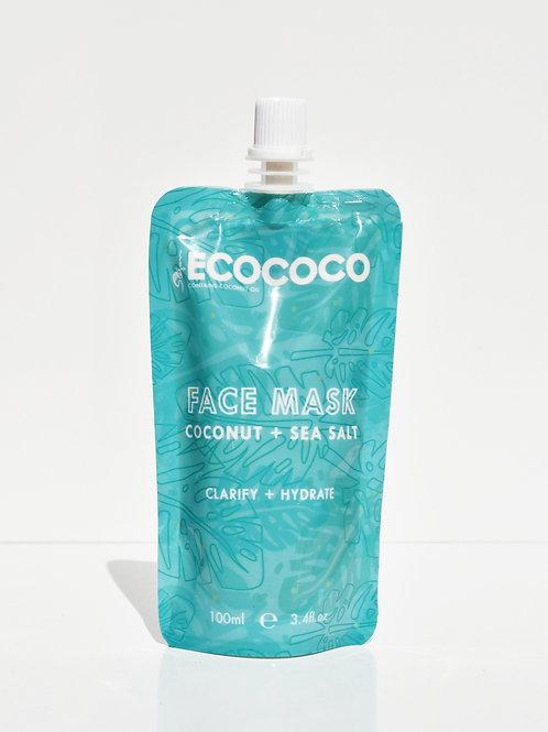 Coconut + Sea Salt Face Mask