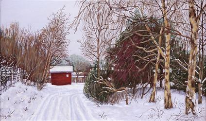 Winter in Denmark