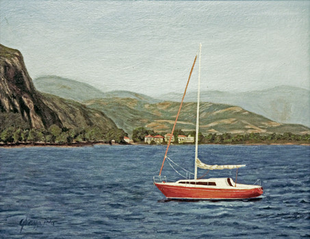 The Red Sailboat