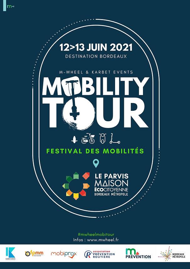 FESTIVAL DES MOBILITÉS - MOBILITY TOUR BORDEAUX MWHEEL