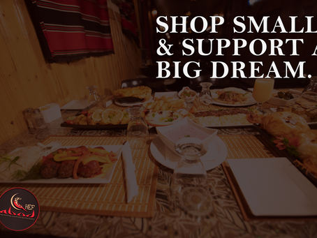 Small business, BIG dreams. 5 reasons why you should #shoplocal!