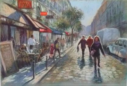 Paris rue de la Harpe  50x70cm.jpg