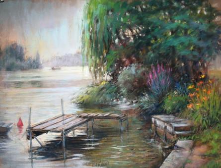 bords de Seine à Vernou la Celle