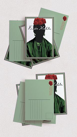 Serie de postales de mujeres destacadas de la historia