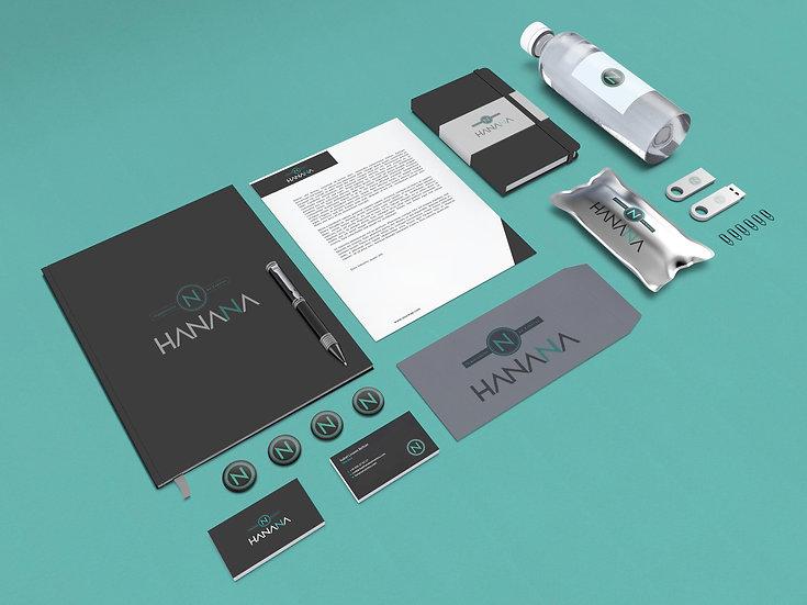 Hanana, organización de eventos. Branding y web.