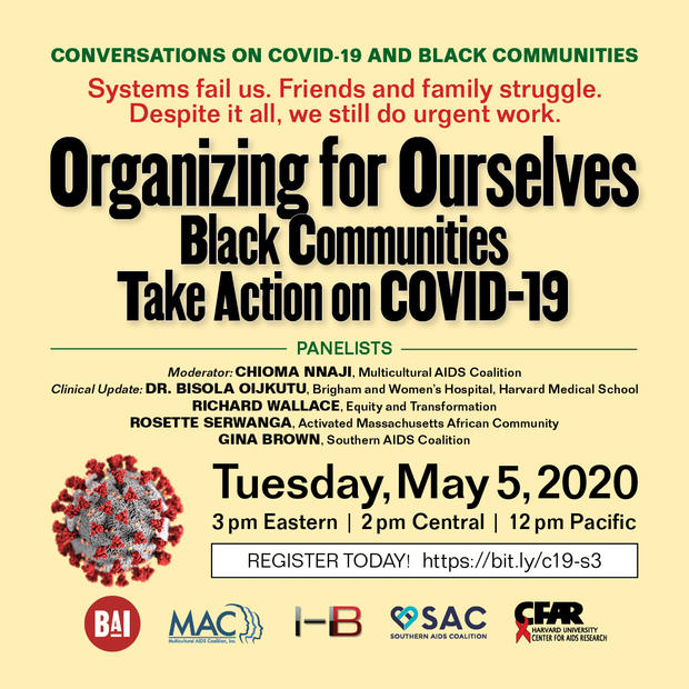 COVID-19 and Black Communities - Episode