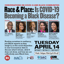 COVID-19 and Black Communities - Flyer 2