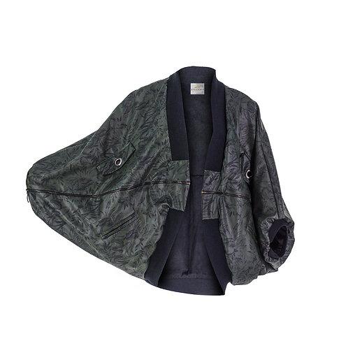 derya özalp elegant styling - Yeşil Palmiye Jaggery Mont
