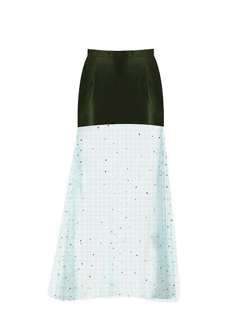 derya özalp elegant styling - Deri Spring Uzun Etek