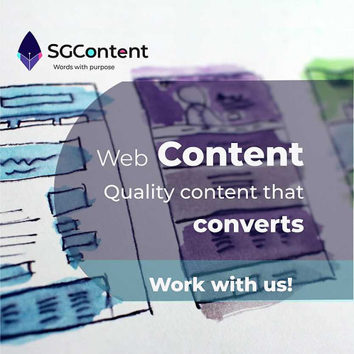 Web content advanced, SEO content with meta