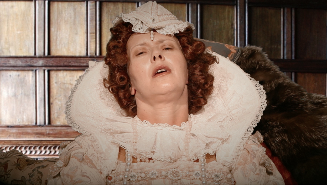 Elizabeth I on Her Death Bed