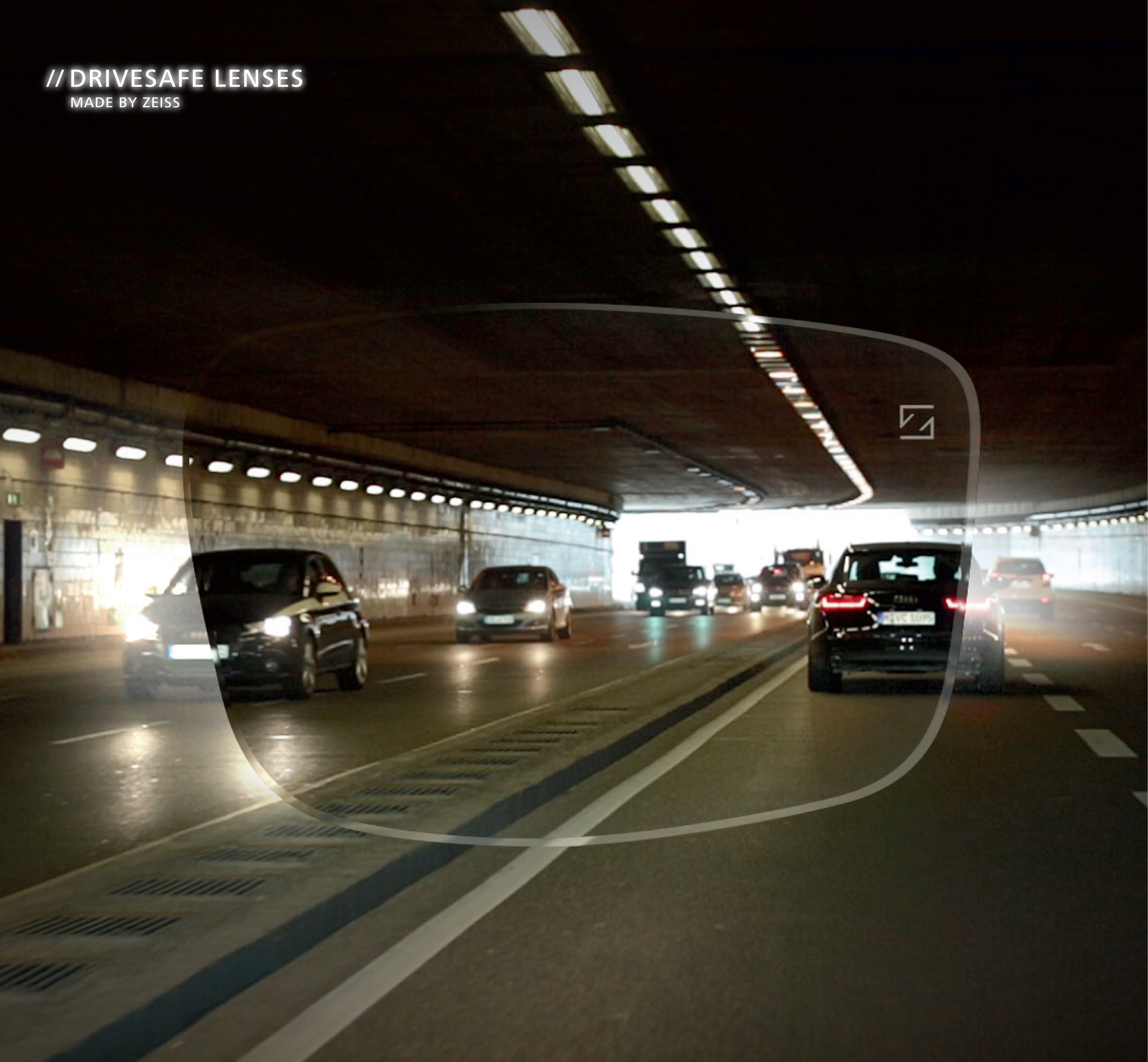 Zeiss DriveSafe in Tunnel Lighting