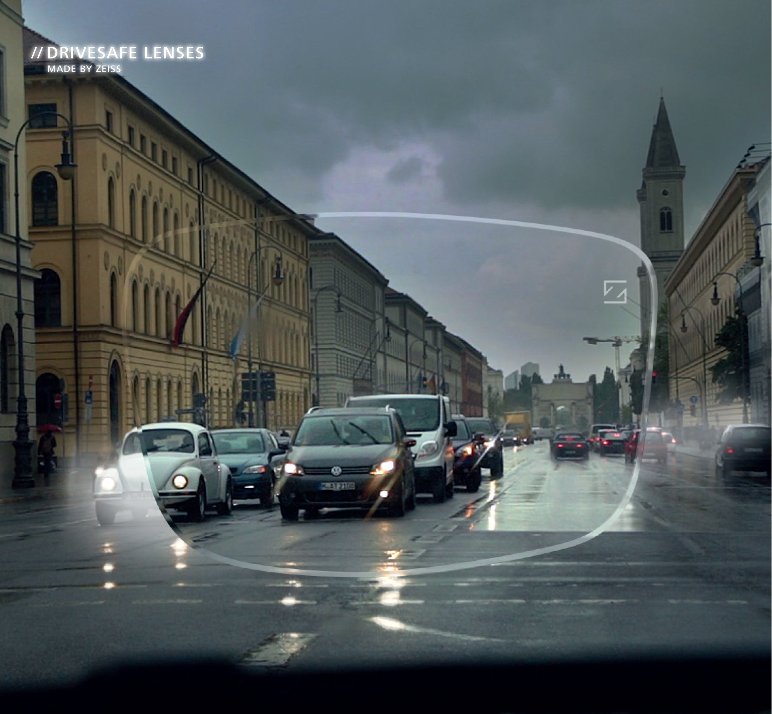 Zeiss DriveSafe in Bad Weather