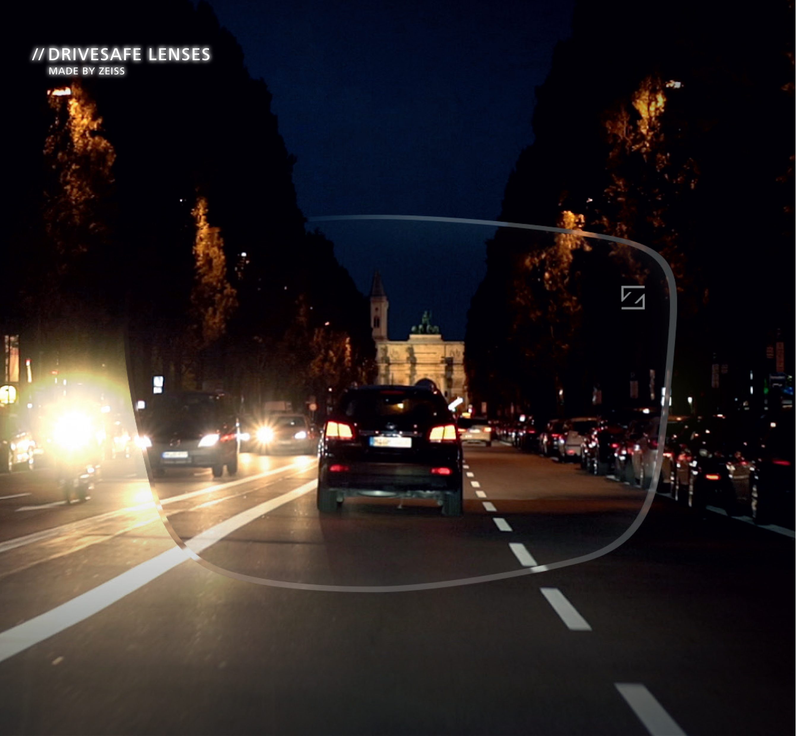 Zeiss DriveSafe at Night