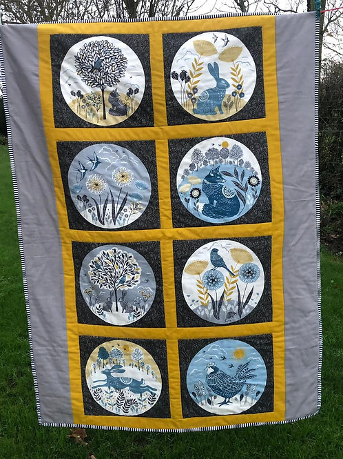 The Fox & Hare Quilt Kit