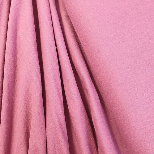 Pink Double Gauze - 100% cotton