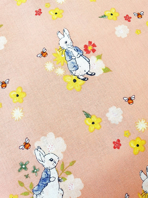 Peter and the Bees - Peter Rabbit - 100% Cotton