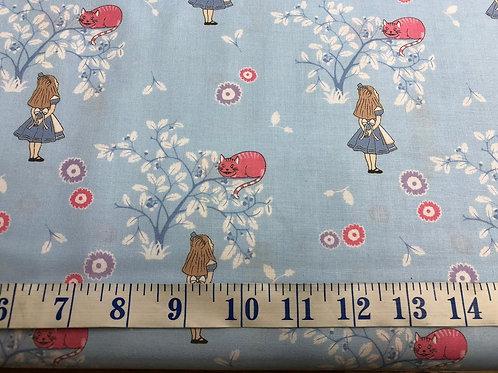Cheshire Cat - Alice in Wonderland - 100% Cotton