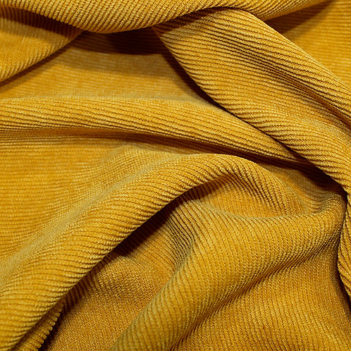 Polyester Plain Soft  Cord -Ochre
