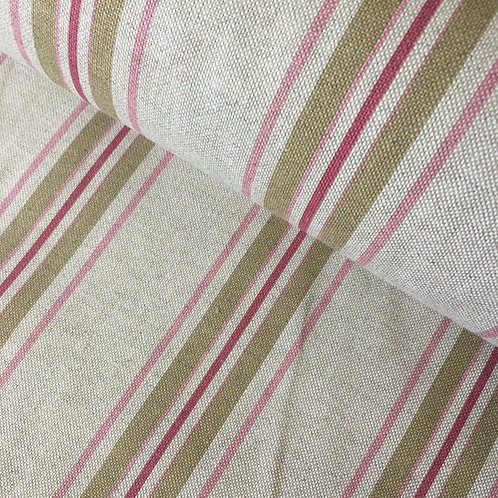 Cotton Linen Craft Canvas - Stripe