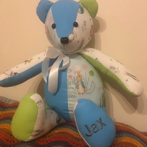 Tuesday 20th July - Make a Memory Bear with Louise 9:30-4:30