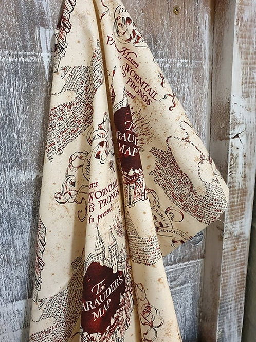 Harry Potter - 100% cotton - The Marauders Map