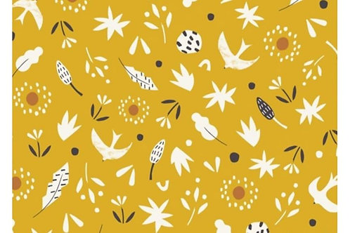 Dashwood - Mustard multi - 100% cotton