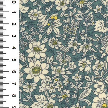 Dresden Small Flower Print - 100% Cotton