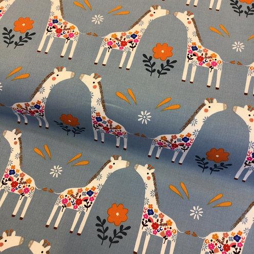 Dashwood Needlecord - Safari Giraffe