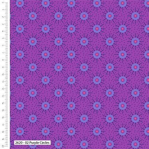 Stuart Hilliard - Makoti - Purple Circles