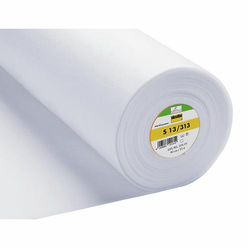 Sew-In Interlining Standard Heavy: 90cm: White Sew-In Interlini