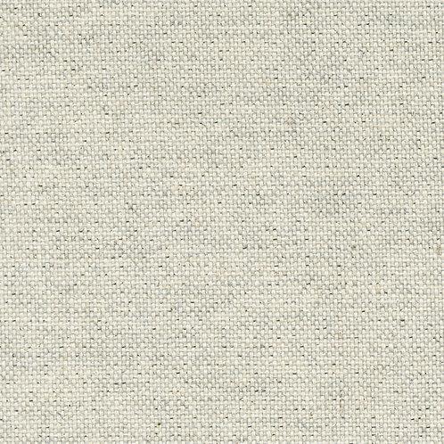 Cotton Linen Craft Canvas - Sparkle Silver