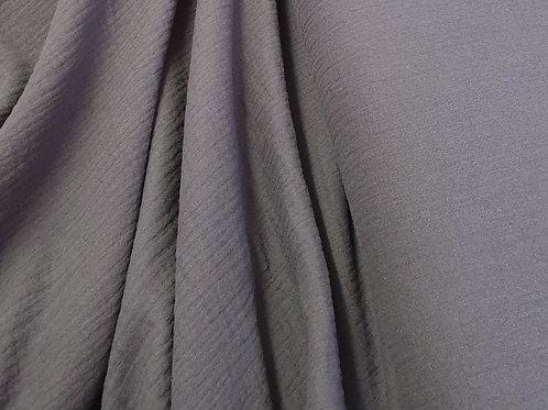 Grey Double Gauze - 100% cotton