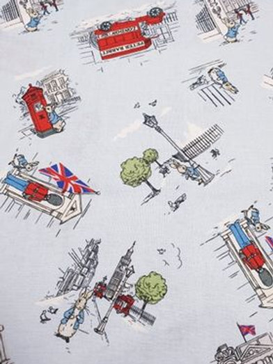 Buckingham palace - Peter Rabbit 100% Cotton