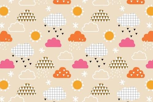 Dashwood - Clouds - 100% cotton