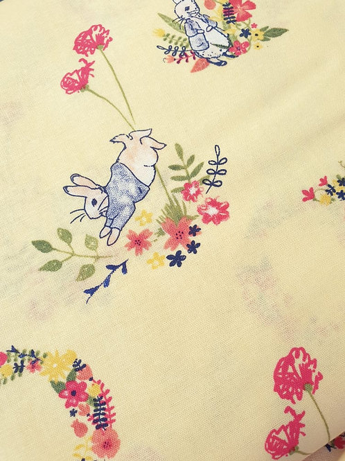P is for Peter - Peter Rabbit - 100% Cotton