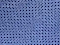 100% cotton polka dot - denim/navy