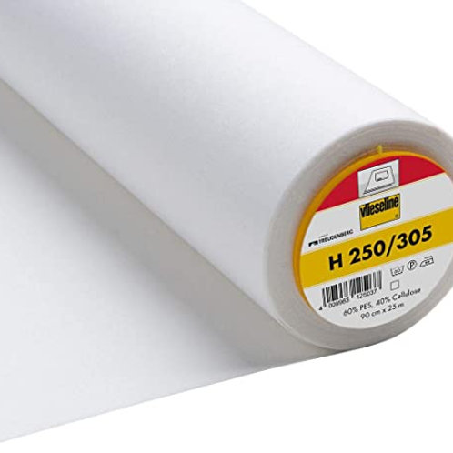 H250/305 Vlieseline Iron on interfacing - Firm