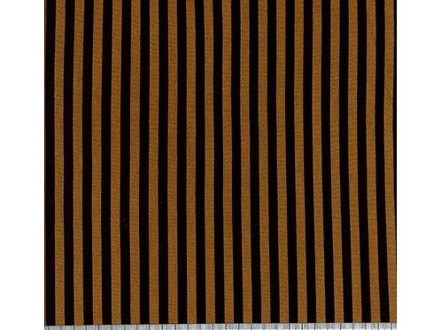 Stripe Ponteroma Jersey -Black/Rust