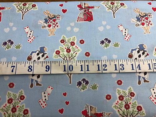 Queen of Hearts - Alice in Wonderland - 100% Cotton