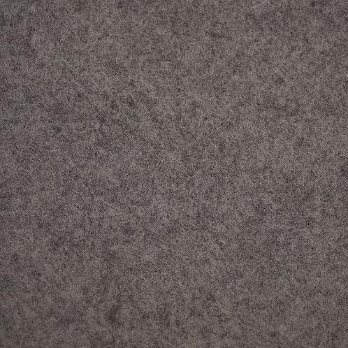 Wool mix felt - Marl Soot Grey (92cm) wide