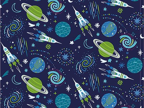 Space Cotton Jersey - Jade