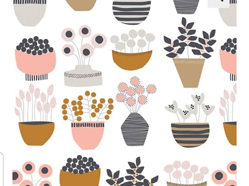 Dashwood - Multi Pots - 100% cotton
