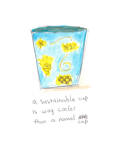 Sustainable Coffee Cup