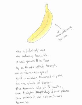 An Extraordinary Banana