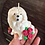 Thumbnail: Bougie artisanale Chow Chow Crème