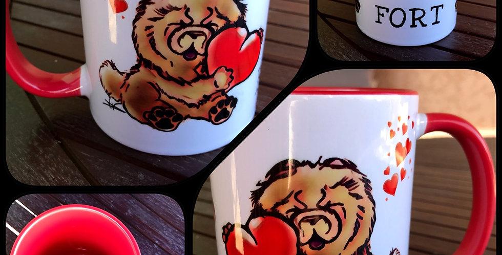 "Mug Rouge collection ""Emotion """