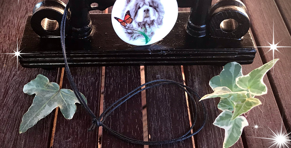 pendentif chow chow